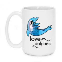 Кружка 420ml Дельфин