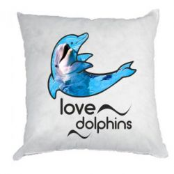 Подушка Дельфин