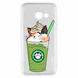 Чехол для Samsung A3 2017 Delicious cat