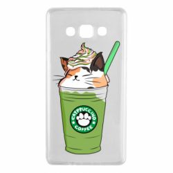 Чехол для Samsung A7 2015 Delicious cat