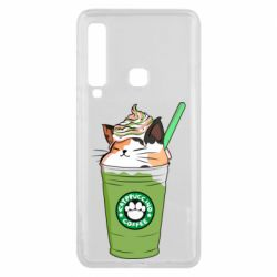 Чехол для Samsung A9 2018 Delicious cat