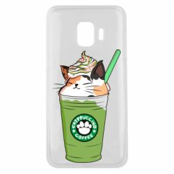 Чехол для Samsung J2 Core Delicious cat