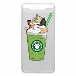 Чехол для Samsung A80 Delicious cat