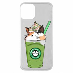 Чехол для iPhone 11 Delicious cat