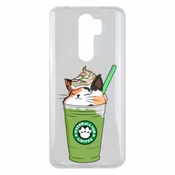 Чехол для Xiaomi Redmi Note 8 Pro Delicious cat