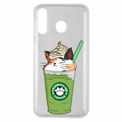 Чехол для Samsung M30 Delicious cat