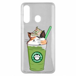 Чехол для Samsung M40 Delicious cat