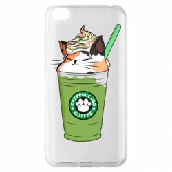 Чехол для Xiaomi Redmi Go Delicious cat