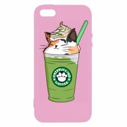 Чехол для iPhone5/5S/SE Delicious cat