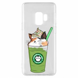 Чехол для Samsung S9 Delicious cat