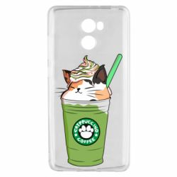 Чехол для Xiaomi Redmi 4 Delicious cat