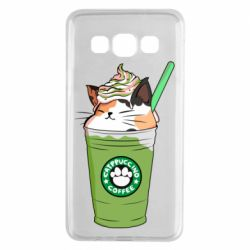 Чехол для Samsung A3 2015 Delicious cat