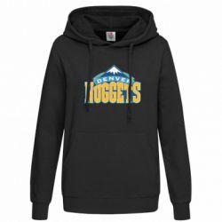 Женская толстовка Denver Nuggets - FatLine