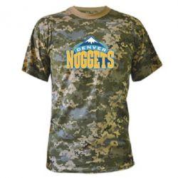 Камуфляжная футболка Denver Nuggets - FatLine