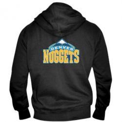 Мужская толстовка на молнии Denver Nuggets - FatLine