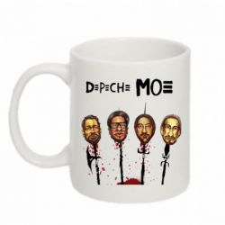 Кружка 320ml Depeche Mode Art