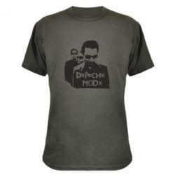Камуфляжная футболка Depeche Mode Band