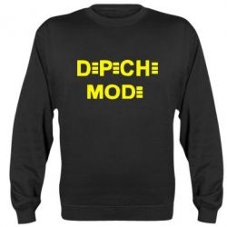 Реглан (свитшот) Depeche Mode Logo - FatLine
