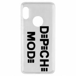 Чехол для Xiaomi Redmi Note 5 Depeche Mode Logo - FatLine