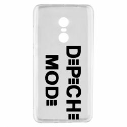 Чехол для Xiaomi Redmi Note 4 Depeche Mode Logo - FatLine