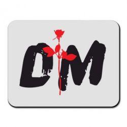 Коврик для мыши depeche mode logo - FatLine