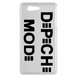 Чехол для Sony Xperia Z3 mini Depeche Mode Logo - FatLine