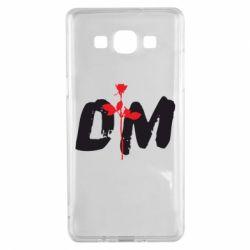 Чехол для Samsung A5 2015 depeche mode logo