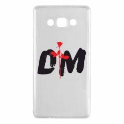 Чехол для Samsung A7 2015 depeche mode logo