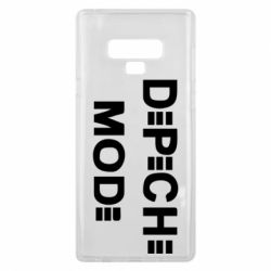Чехол для Samsung Note 9 Depeche Mode Logo - FatLine