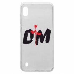 Чехол для Samsung A10 depeche mode logo