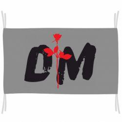 Флаг depeche mode logo