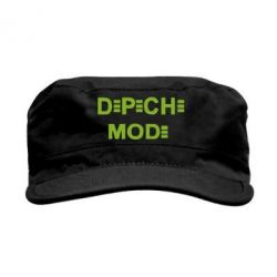 Кепка милитари Depeche Mode Logo - FatLine