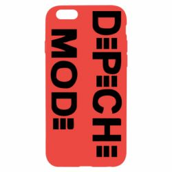 Чехол для iPhone 6/6S Depeche Mode Logo - FatLine