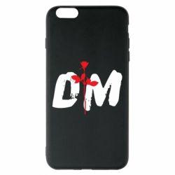 Чехол для iPhone 6 Plus/6S Plus depeche mode logo