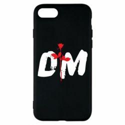 Чехол для iPhone 8 depeche mode logo