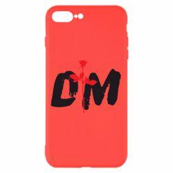Чехол для iPhone 8 Plus depeche mode logo