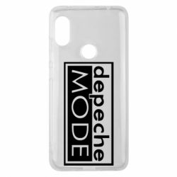 Чохол для Xiaomi Redmi Note Pro 6 Depeche Mode Rock
