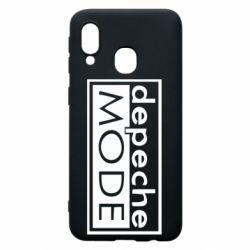 Чохол для Samsung A40 Depeche Mode Rock