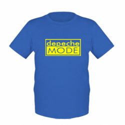 Детская футболка Depeche Mode Rock - FatLine