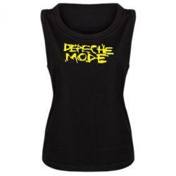 Женская майка Depeche mode - FatLine