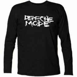 Футболка с длинным рукавом Depeche mode - FatLine