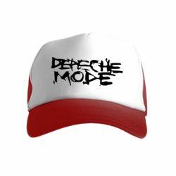 Детская кепка-тракер Depeche mode