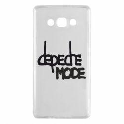 Чехол для Samsung A7 2015 Депеш Мод - FatLine
