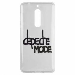 Чехол для Nokia 5 Депеш Мод - FatLine
