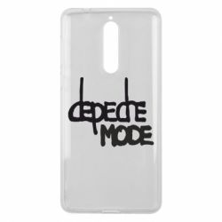 Чехол для Nokia 8 Депеш Мод - FatLine