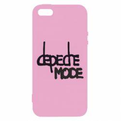 Чехол для iPhone5/5S/SE Депеш Мод - FatLine