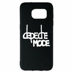 Чехол для Samsung S7 EDGE Депеш Мод - FatLine