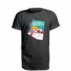Подовжена футболка Desert and cacti