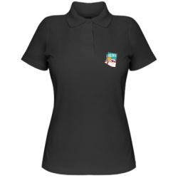 Жіноча футболка поло Desert and cacti