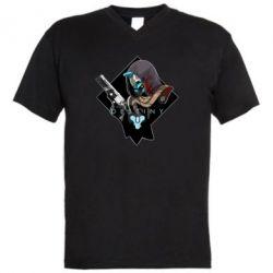 Чоловіча футболка з V-подібним вирізом Destiny 2 Cayde 6